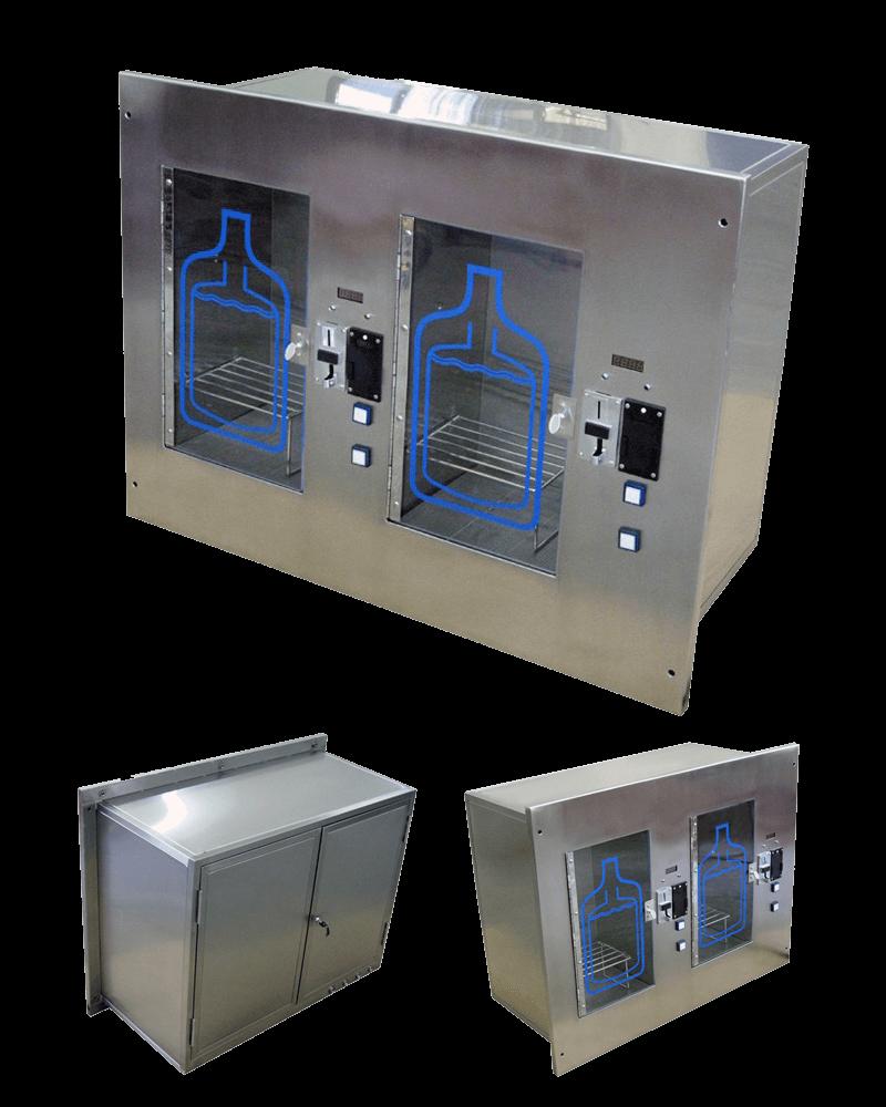 Distributeur d'eau à montage mural acier inoxydable 304)