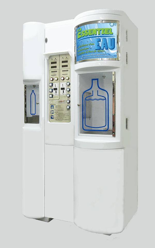 Distributeur d 39 eau potable avec syst me de purification d 39 eau - Distributeur d eau gazeuse ...